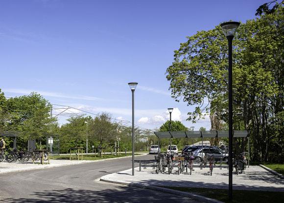 Aarhus Letbane, Beder, Sky Park