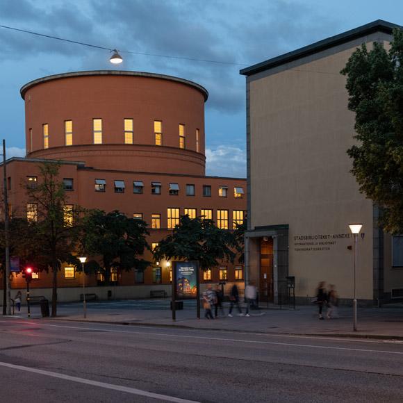 Stockholm, stadsbiblioteket, Sky Park