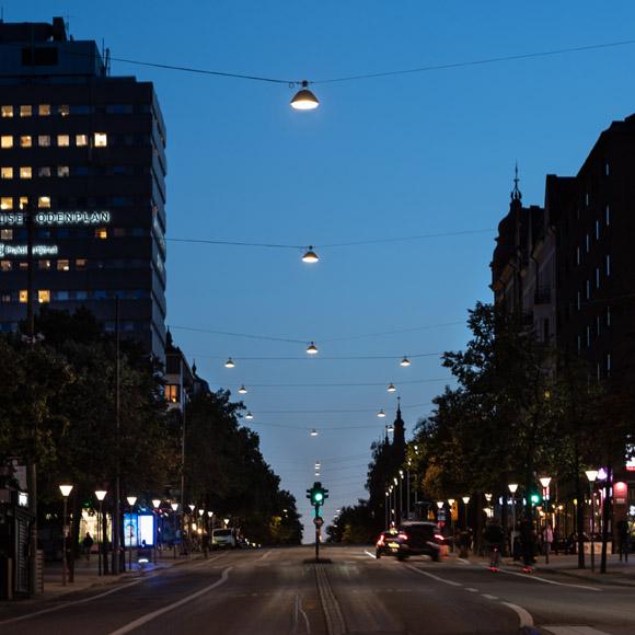 Sveavägen, Stockholm, Way, Sky